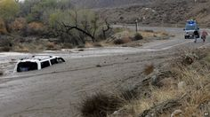A television news crew walks away from a vehicle caught in an overnight mudslide… – mi sitio San Jacinto California, Walking Away, Roof Repair, Southern California, Geography, The Good Place, Environment, Canada, City