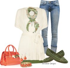 """""""Spring Casual"""" by amabiledesigns on Polyvore"""