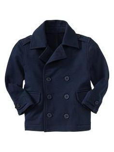 French terry peacoat | Gap
