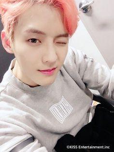 Minhyuk so lady like.< cause That be Btob's proud mother Btob Lee Minhyuk, Yook Sungjae, Btob Members, Im Hyun Sik, Writing Lyrics, Like A Mom, Kpop Boy, Korean Beauty, Handsome Boys