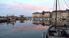 This gorgeous shot of Honfleur, France was taken by a Solo Travel Society member who was dining near the harbor.