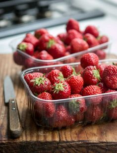 French summer strawberries