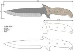 Чертежи ножей для изготовления. Часть 1 | LastDay Club image 25
