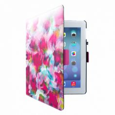 This iPad case is both highly protective and beautifully designed. Featuring a watercolours style depiction of an English rose garden, the iPad 2/3/4 can be kept safe from harm while looking elegant no matter where you take it. An ideal Valentine's gift idea for her.