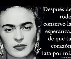 Friducha de mis amores. Frida Kahlo.