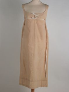 Bodiced petticoat, 1800. Calico. Killerton House. National Trust Inventory Number 1359303