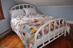 Love this simple quilt