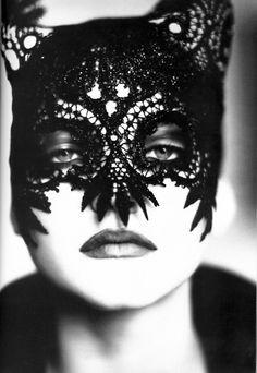 Nadja Auermann photographed by Ellen von Unwerth, 1991