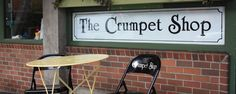 The Crumpet Shop: Crumpets with tasty toppings. Sadly they no longer make the maple creme. Closes early.