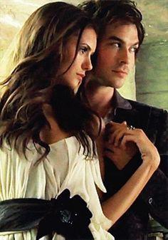#TVD The Vampire Diaries  Nina Dobrev(Elena/Katherine/Amara etc..) & Ian Somerhalder(Damon)