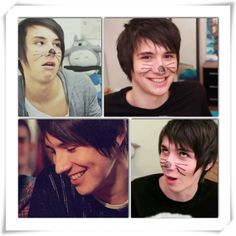 Is Dan Howell not one of the worlds most attractive and funny people . Oops did I just describe myself . But seriously he is awesome Phil 3, Dan And Phil, Phan Is Real, Cole Sprouse, Danisnotonfire And Amazingphil, Tyler Oakley, Videos Tumblr, Phil Lester, Dan Howell