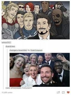 Avengers selfie!