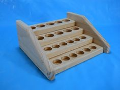 Small Pine Essential Oil Counter Holder Display Rack. Also can be made from oak.