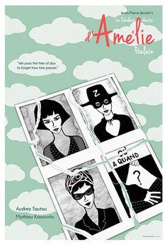 Amelie Alternative Movie Poster Original by TerminalPresents