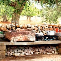 cool cooking area
