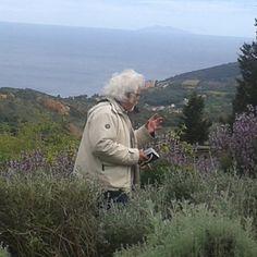 #ShareIG #PatrizioRoversi durante le riprese di #lineaverde all' #Orto dei Semplici elbano presso l' Eremo di S. Caterina sul monte Serra a Rio nell' Elba. Lo riconoscete @Turisti per Caso :-) ? #Isoladelba #isolaelba #IloveElba #tuscany #tuscanygram #turistipercaso #Raiuno #tv #natura #nature -#adventure #Ilikeitaly