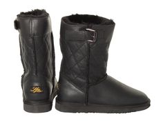 Love from Australia Black Sheepskin Boots! Available in sizes 8 - 12.