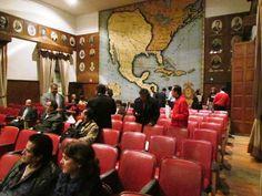 """Gran Salón """"Libertador Miguel Hidalgo"""", ubicado en la planta alta de nuestra sede en Justo Sierra No. 19, Centro Histórico de la Ciudad de México"""