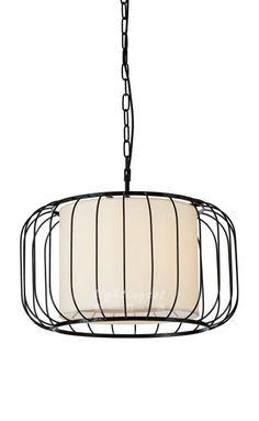 New Chinese style example room chandelier【最灯饰】新中式灯笼时尚简约设计师样板房餐厅卧室走廊吊灯
