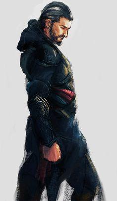 Ezio by ameij on deviantART
