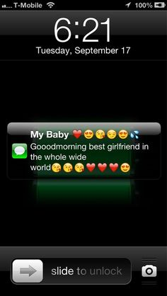 Waking up to this >>> on We Heart It Cute Good Morning Texts, Couple Texts, Image Sharing, Wake Up, Find Image, We Heart It, Relationship, How To Get, My Love