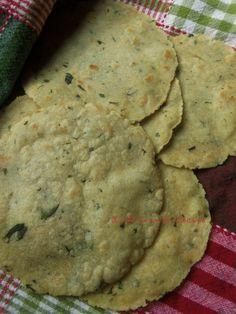 Corn Tortillas Infused (Jalapeño, Cilantro, Poblano and Chile Rojo)