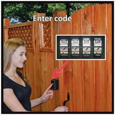 3.25 In. X 2.5 In. Cast Metal Combination Gate Lock