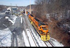 RailPictures.Net Photo: MMID 2063 Maryland Midland EMD GP38-3 at Finksburg, Maryland by denverrails
