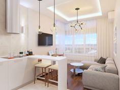 Mooseberry Design Creates an Apartment for a Student in Kiev