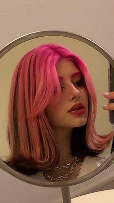Pretty Hair Color, Hair Color And Cut, Hair Dye Colors, Hair Color Streaks, Red Hair Inspo, Alternative Hair, Hair Reference, Aesthetic Hair, Dye My Hair