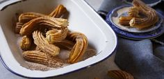 Milk tart stuffed churros | Food24