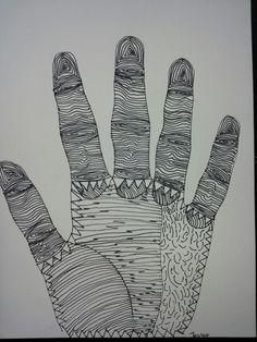 vb + opdracht: hand