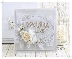 Scrap Art by Lady E: Wedding cards - Wild Orchid Crafts DT and free digi :) Wedding Cards Handmade, Handmade Cards, Handmade Envelopes, Engagement Cards, Wild Orchid, Wedding Anniversary Cards, Wedding Scrapbook, Cute Cards, Cards Diy