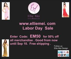 Ellie Mei    http://www.elliemei.com   Please enjoy our holiday sale . using code: EM50 to receive  50% off all merchandise. good from now until SEP 10. Happy holidays!   #elliemei #elliemeidesign #holidaysale #gooddeal #dealoftheday #coupon #womensdress #womensapparel #fashionshop #shopping #onlinestore #onlineshopping #uniquedress #freeshippingdress #top #legging #eveninggowns #partydress #sweater #skirt #blouses #accessories #jumpsuit #coat