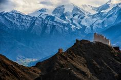 Monastery, Leh, Ladakh, India, Asia