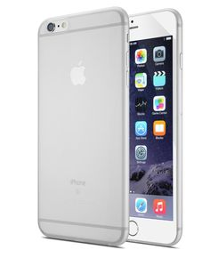 iPhone 6 Plus / 6S Plus Case, Moduro Premium Ultra Thin [0.35mm] Minimalist Case (Eco Packaging) (Transparent White) *** Want to know more, click on the image.
