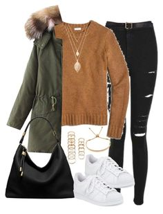 """""""Untitled #1100"""" by cottxncandy ❤ liked on Polyvore featuring Topshop, J.Crew, adidas, Forever 21, Monica Vinader, Michael Kors and Maison Margiela"""