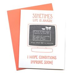 A great pick-me-up card | www.mooreaseal.com