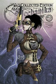 Lady Mechanika # 0 / #1 Collected Edition Cover B AspenStore Variant