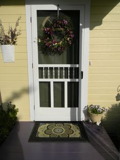 Possible idea for new front door.