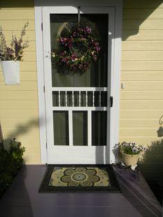 Possible idea for new front door.