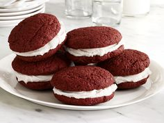 Red Velvet Whoopie Pies from #FNMag