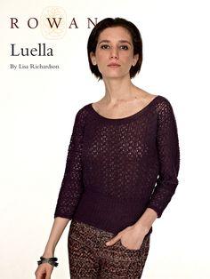 Free Knit Sweater Pattern Luella