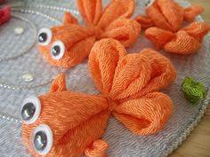 再販 アレンジつまみ 「かわいい金魚さん」 大