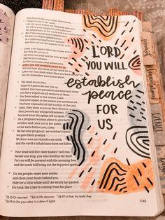 Bible Encouragement, Bible Verses Quotes, Bible Scriptures, Bible Art, Jesus Bible, Bible Drawing, Bible Doodling, Bible Study Notebook, Bible Study Journal