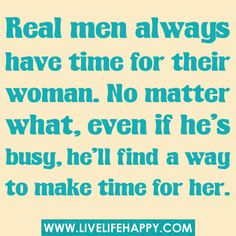 Make the time!