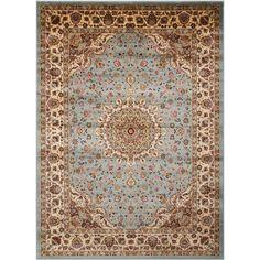 Nourison Delano Blue Area Rug (5'3 x 7'3) $112