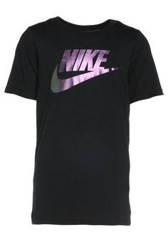 Envíos gratis a toda España. Nike Performance Camiseta print black: Nike  Performance Camiseta print black Deporte ...