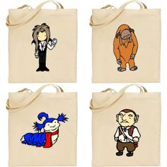 not for evie's room but had to share.  feel free to unpin after you view it.  I need dat!  Long-handled Labyrinth Character Shopper Bag Tote