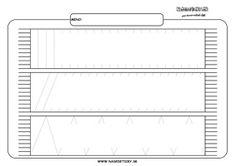 Šál - grafomotorika - pracovné listy pre deti Line Chart, Sheet Music, Education, Acer, Montessori, Winter, Teaching, Onderwijs, Music Sheets